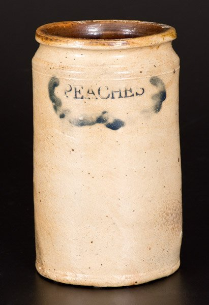 Rare C. CROLIUS / MANUFACTURER Manhattan Stoneware Jar