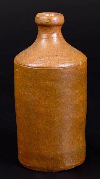 Scarce Stoneware Bottle, C. CROLIUS / MANUFACTURER /