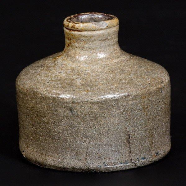 Salt-Glazed Stoneware Inkwell, Northeastern U.S. - 3