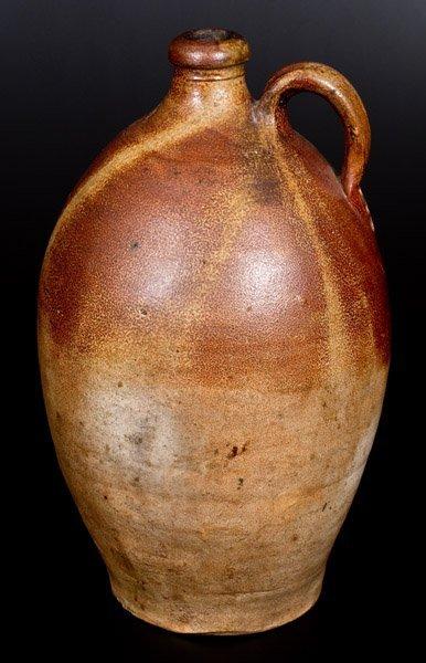 "Extremely Rare English Stoneware Jug w/ ""GR"" Beneath - 2"