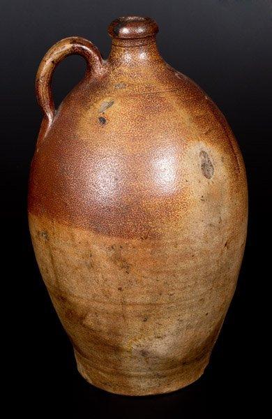 "Extremely Rare English Stoneware Jug w/ ""GR"" Beneath - 3"