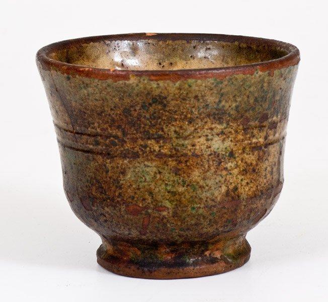 Shenandoah Valley Glazed Redware Mug, att. Anthony W. - 2