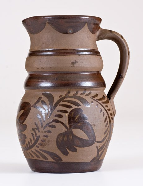 Fine Small-Sized Tanware Pitcher, New Geneva or - 4