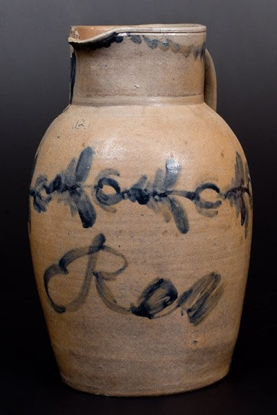 Rare attrib. Wells & Richards, Reading, PA Stoneware