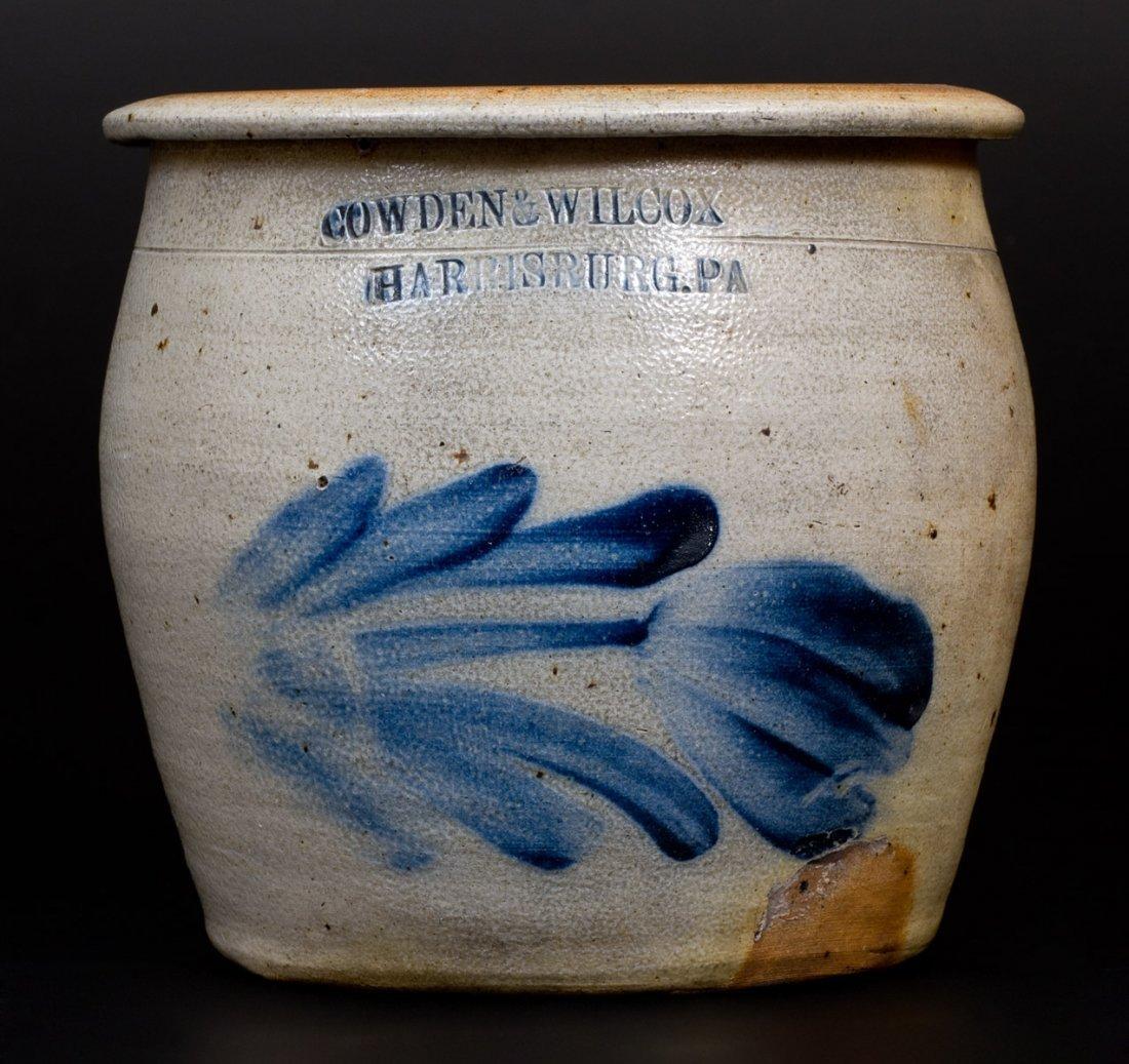 Rare COWDEN & WILCOX / HARRISBURG, PA Stoneware Apple
