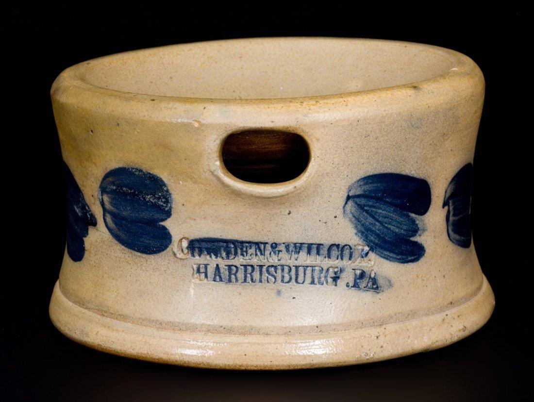 Scarce COWDEN & WILCOX / HARRISBURG. PA Stoneware
