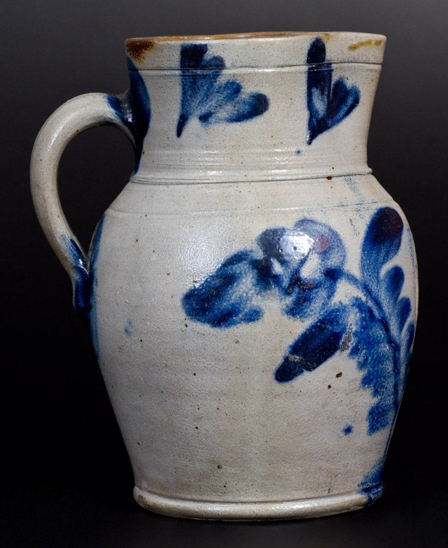 Three-Quart Stoneware Pitcher attrib. Remmey Pottery, - 3