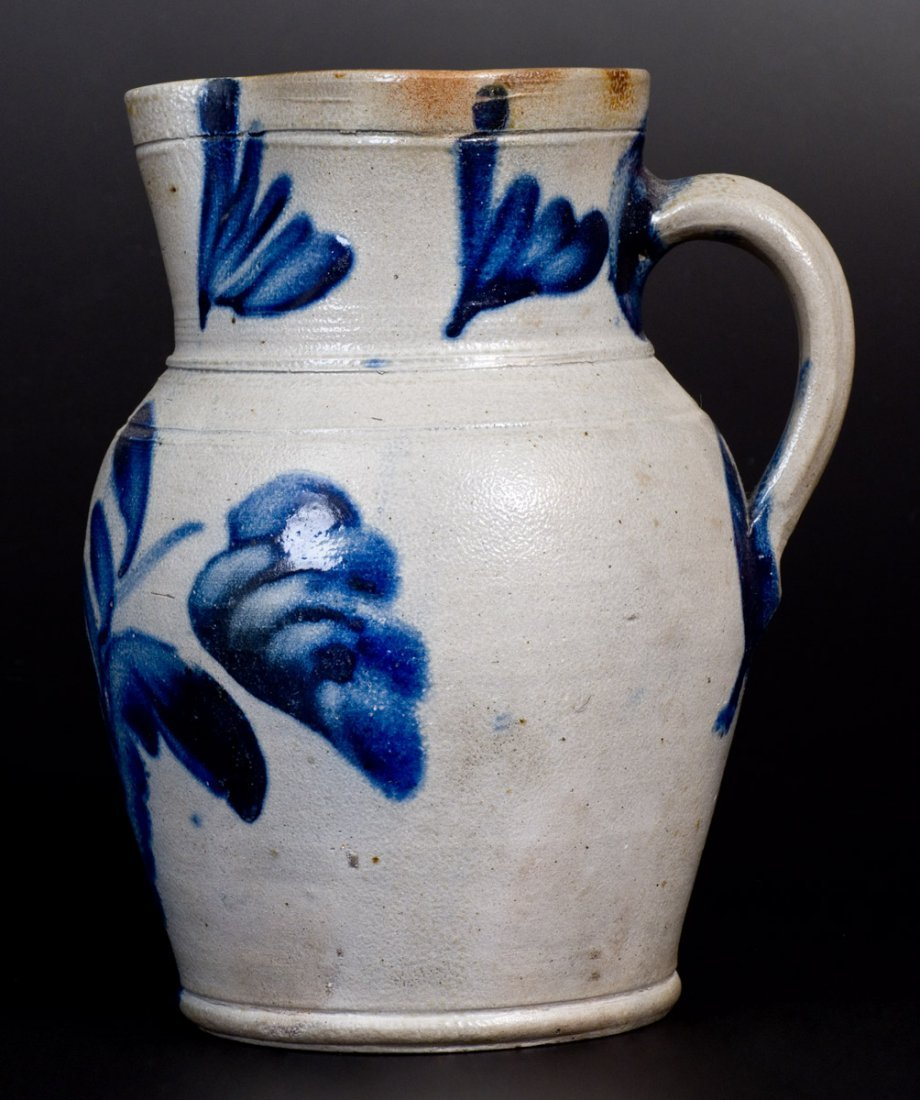 Three-Quart Stoneware Pitcher attrib. Remmey Pottery, - 5