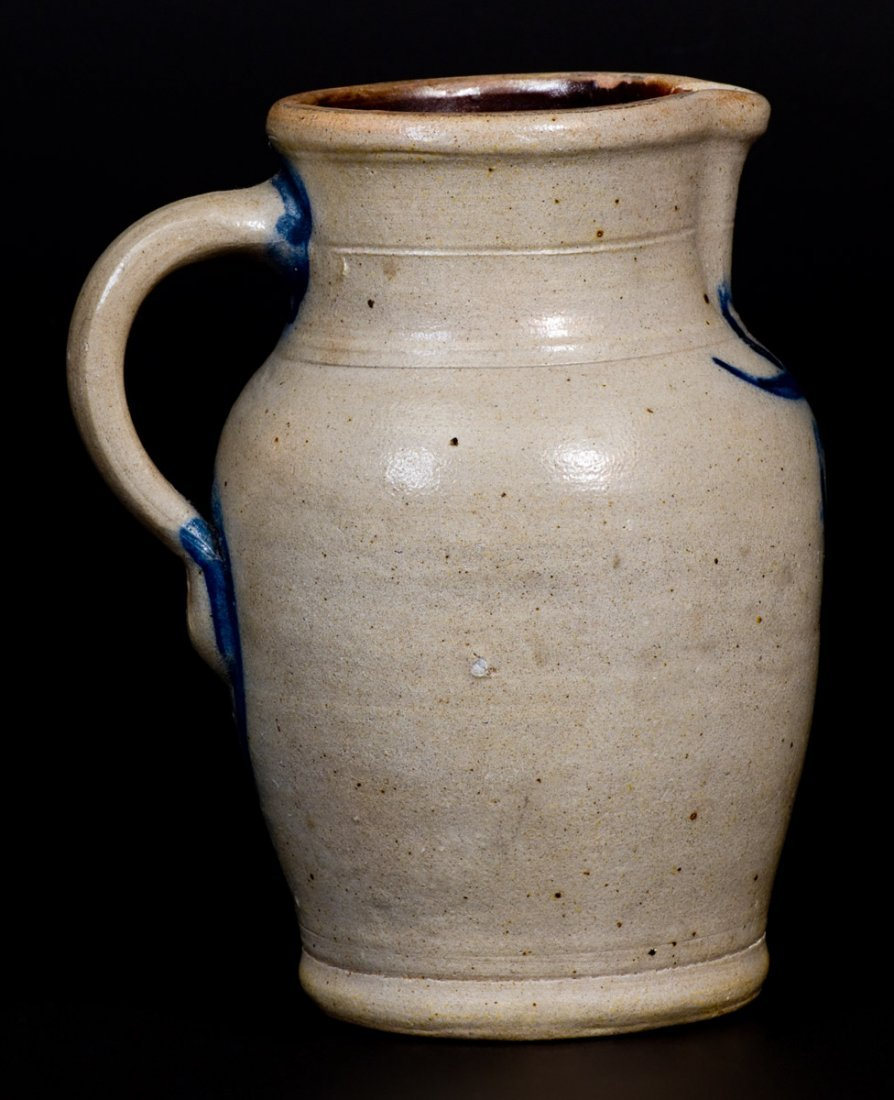 Quart-Sized Stoneware Pitcher attrib. Wingender - 4