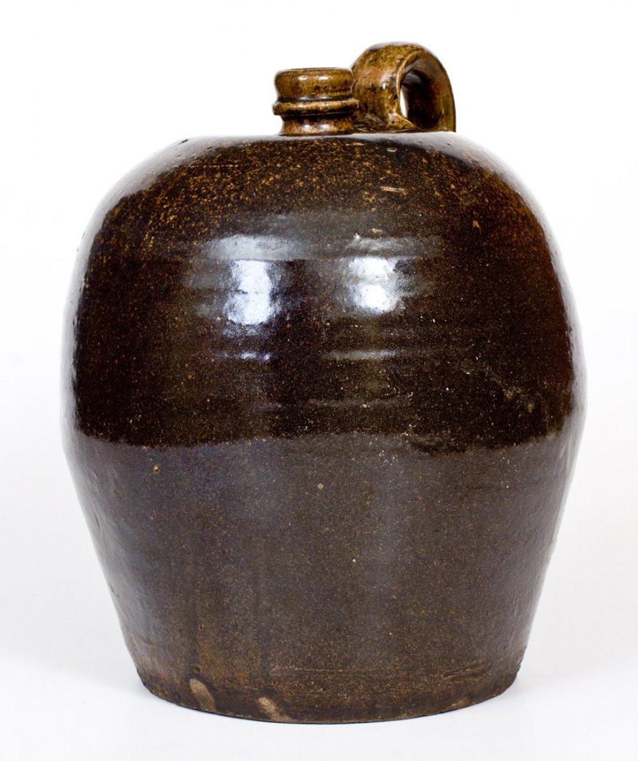 Alkaline-Glazed Stoneware Jug, Edgefield, SC, circa - 4