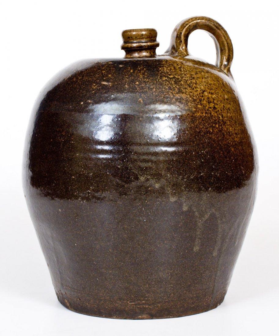 Alkaline-Glazed Stoneware Jug, Edgefield, SC, circa - 5