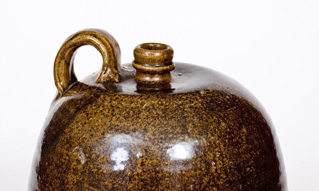 Alkaline-Glazed Stoneware Jug, Edgefield, SC, circa - 7