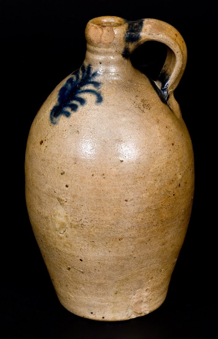 Fine One-Quart Stoneware Jug with Slip-Trailed - 3