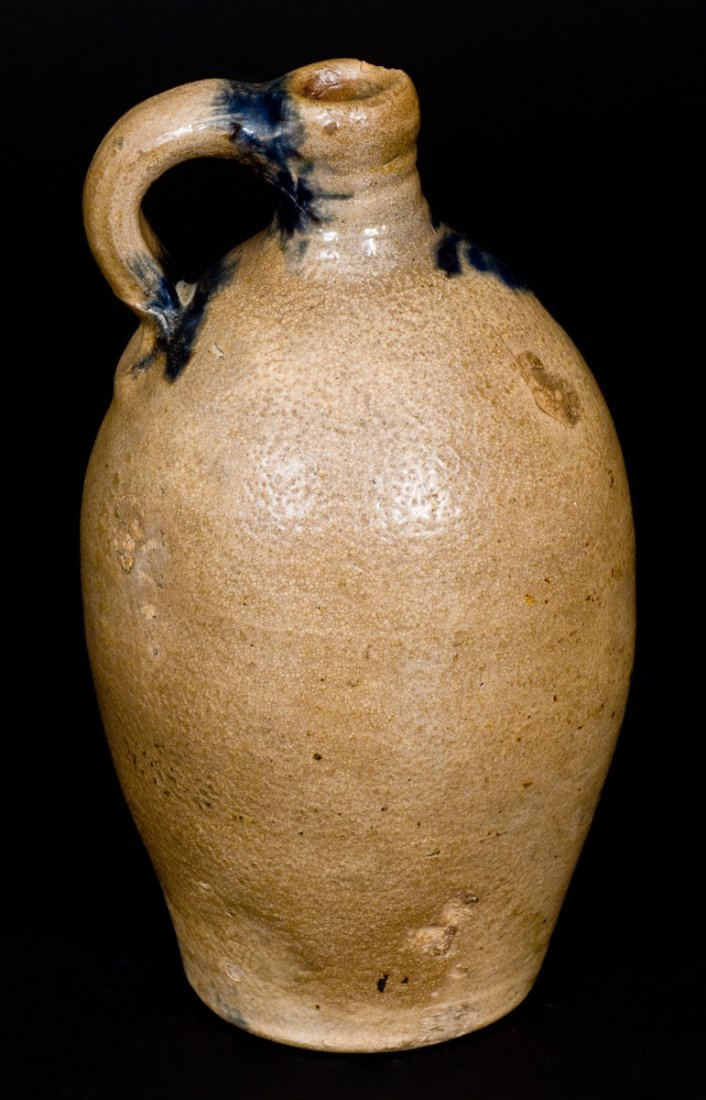 Fine One-Quart Stoneware Jug with Slip-Trailed - 4