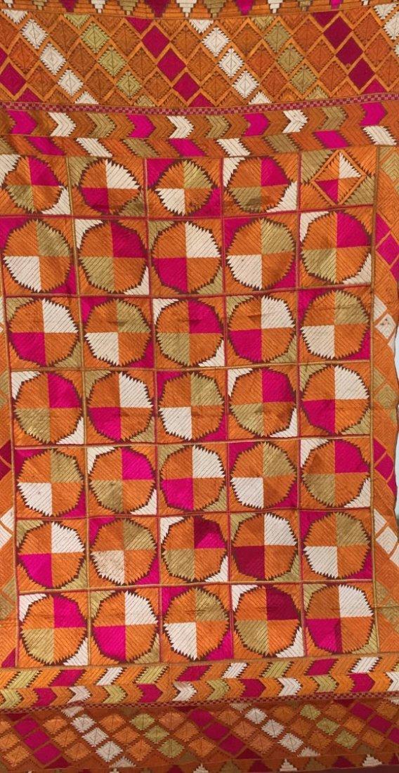 Wedding Bagh Phulkari - Vintage Indian Punjab Textile