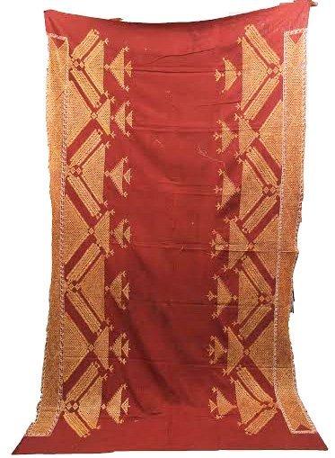 Chope Phulkari  Antique Ceremonial Textile - India