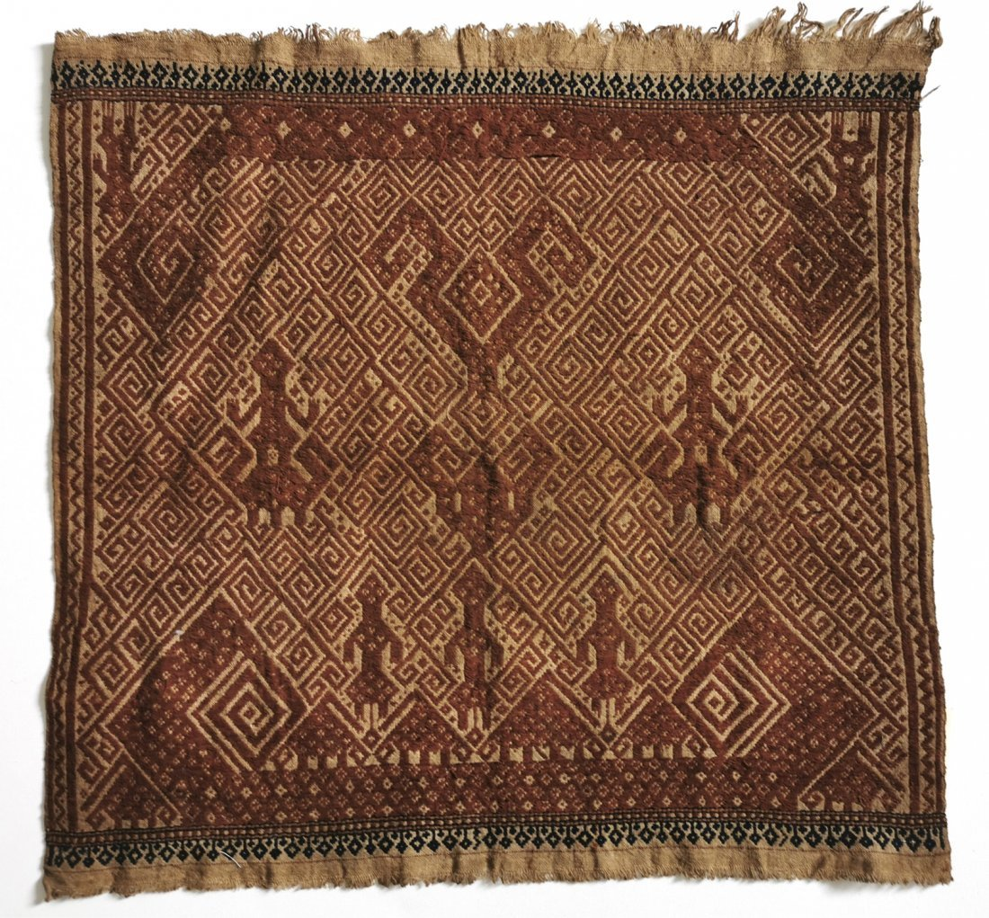 Antique Tampan Ship cloth Sumatra Indonesia Weaving