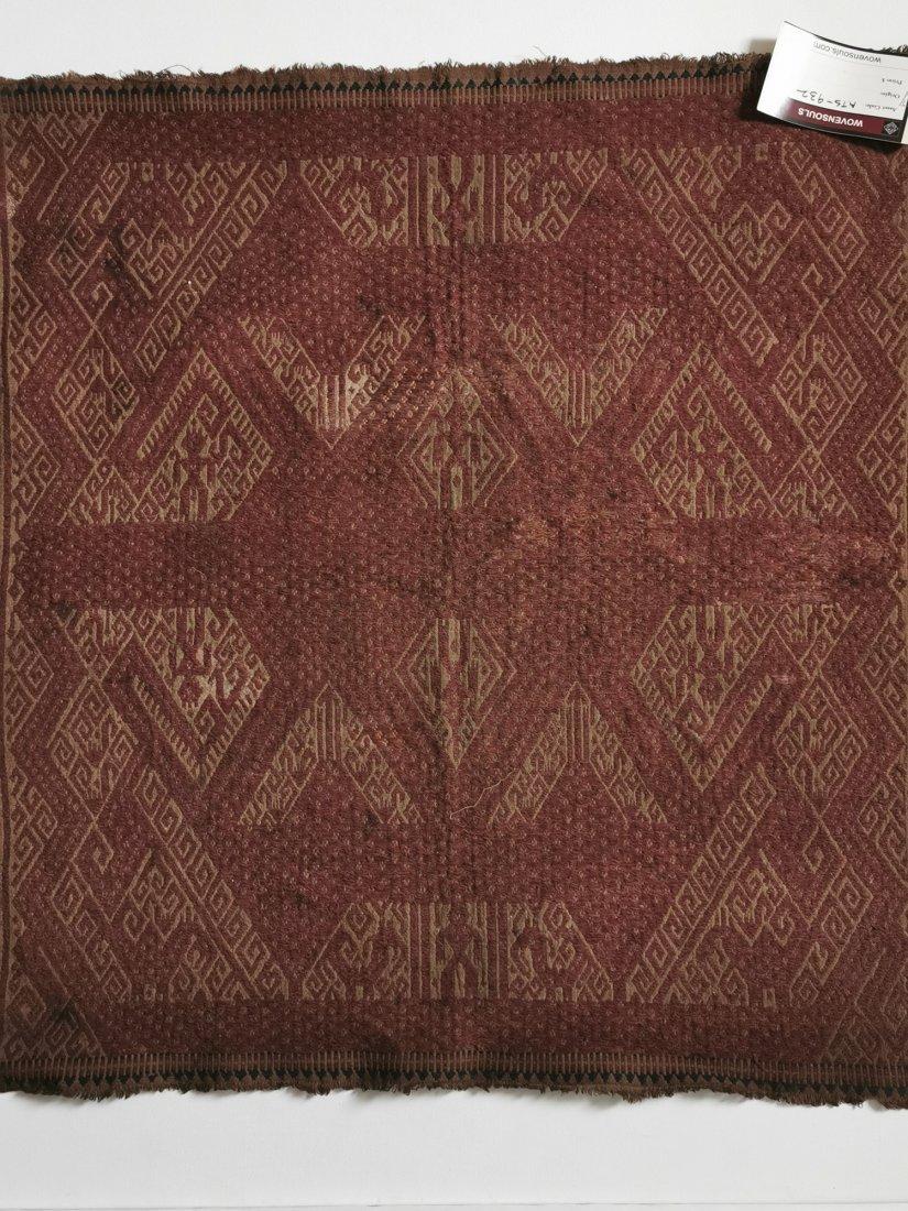 Antique Sumatra Tampan Shipcloth Textile Weaving