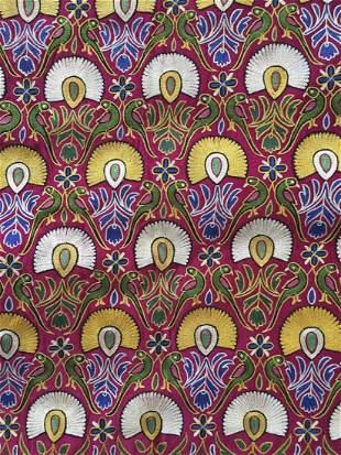 Old Silk Mochi Embroidery Skirt Length Gujarat
