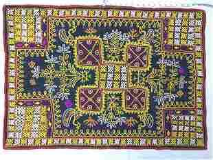Ceremonial Rabari Cradle Cloth Textile