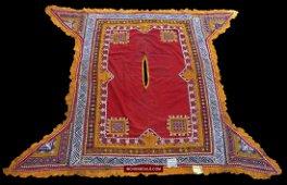 Vintage Ceremonial Camel Cover - Rajasthan