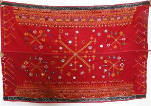 Old Rajasthan Odhana with Embroidery and Mirrorwork