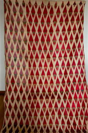 Khanjar Thirma Phulkari Bagh Sikh Shawl Textile