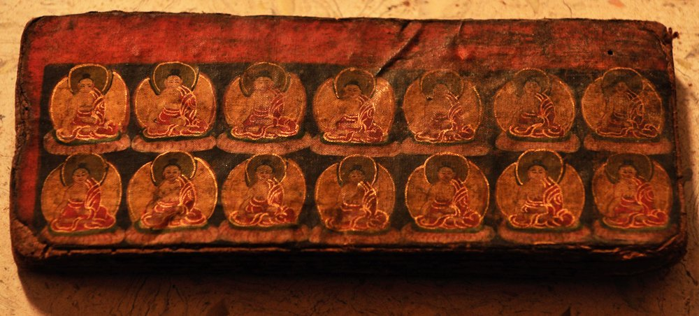 RARE MUSTANG BUDDHIST MANUSCRIPT, 15th century