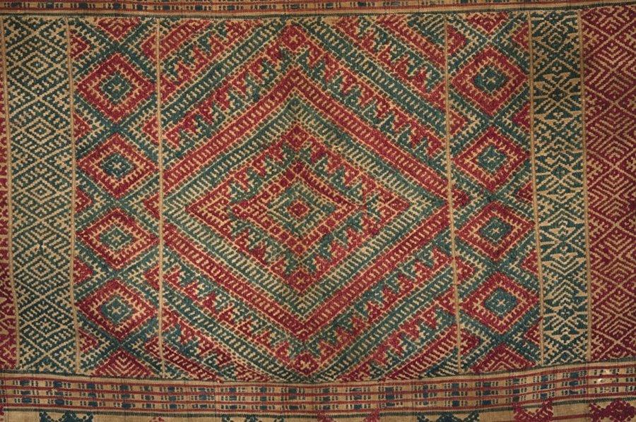BHUTAN WOVEN KERA late 19th century