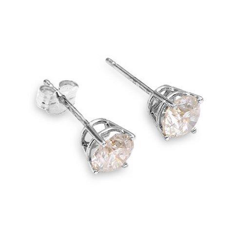 0.40 CT. H-I SI2 Genuine Diamond 14k Gold Stud Earrings