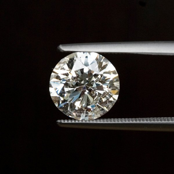 EGL CERT 1.03 CTW ROUND DIAMOND H/SI2