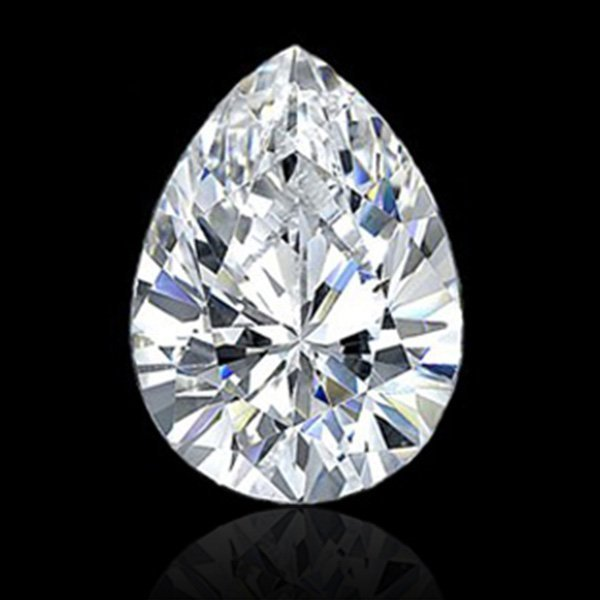 EGL CERT 1.06 CTW PEAR CUT DIAMOND D/SI2
