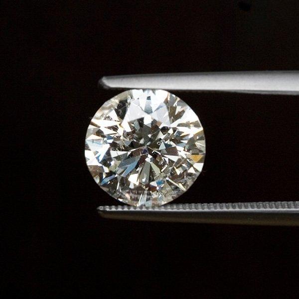 EGL CERT 1.02 CTW ROUND DIAMOND H/SI2