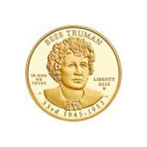 First Spouse 2015 Bess Truman Proof