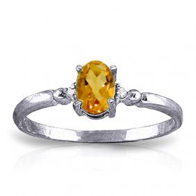 0.46 Ctw Platinum Plated Sterling Silver Young Love Cit
