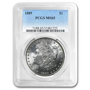 1889 Morgan Dollar MS-65 PCGS