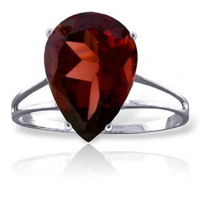 5 Ctw Platinum Plated Sterling Silver Sensuality Garnet