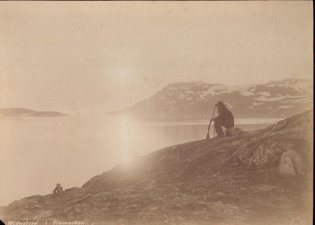 Midnight Solsitice in Finmarken (Norway), ca.1880.