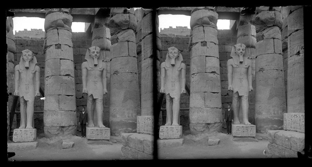 AGFA Chromo Slides of Luxor and Karnak, ca. 1860.