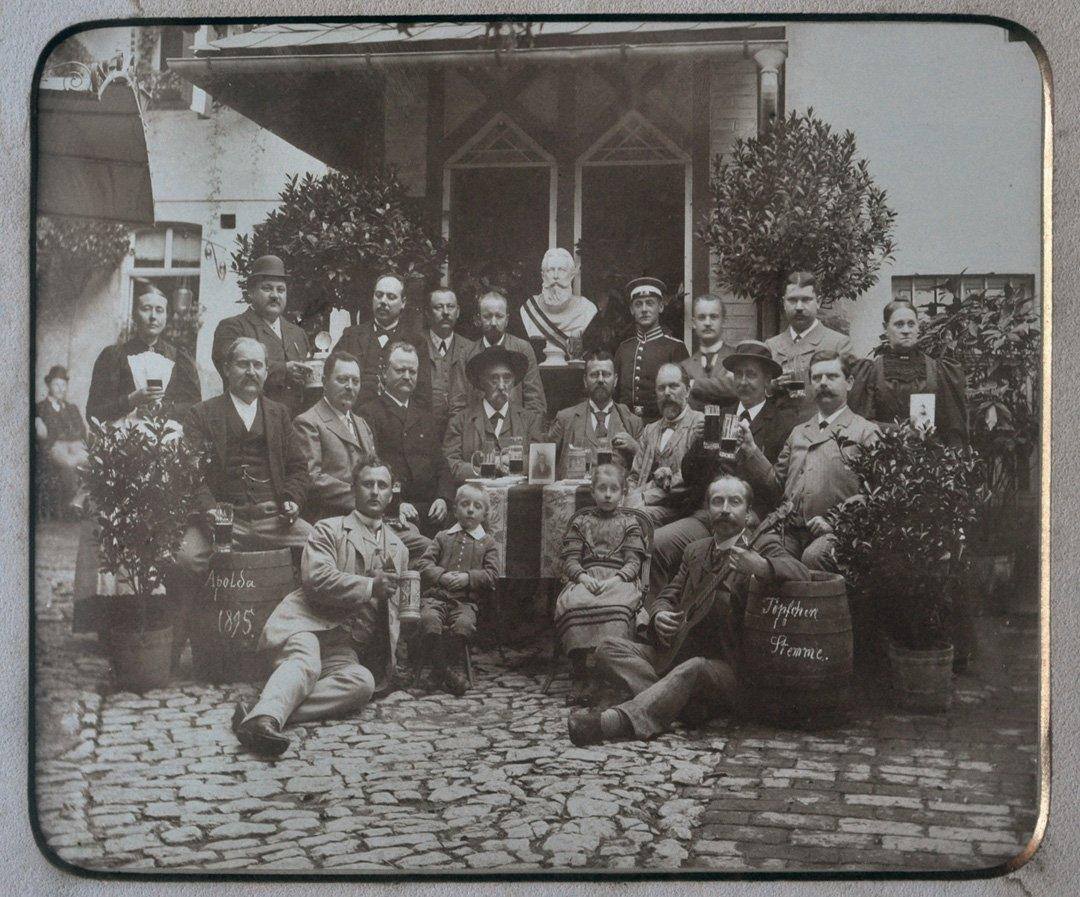 German Family Portrait, 1895.