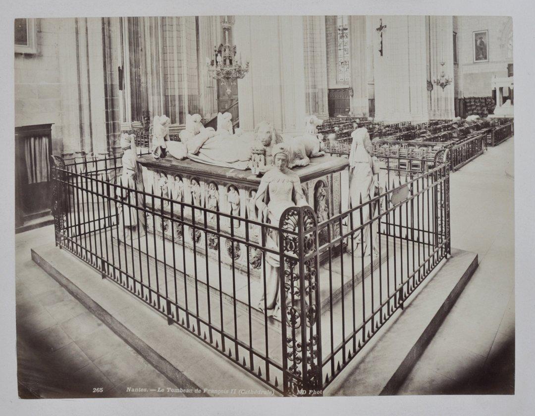 Tomb of Frances II, Duke of Brittany.