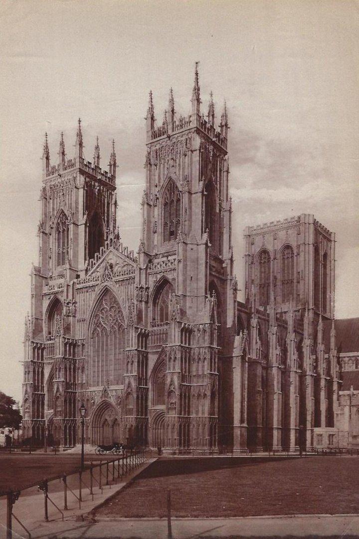 19th C. Albumen Prints of European Cathedrals.