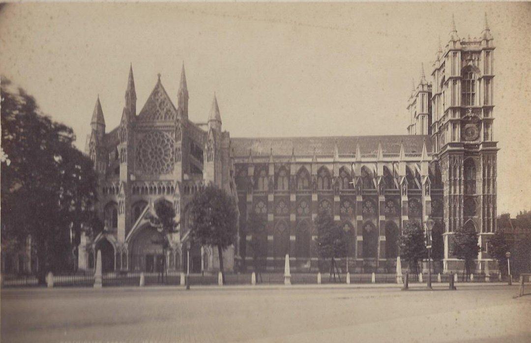 Albumen Photographs of English Monuments. c. 1880.