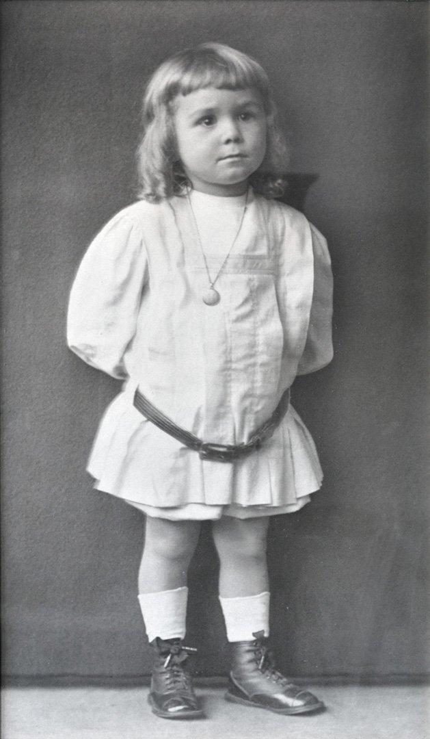 Portrait of an Edwardian Boy. ca. 1900.