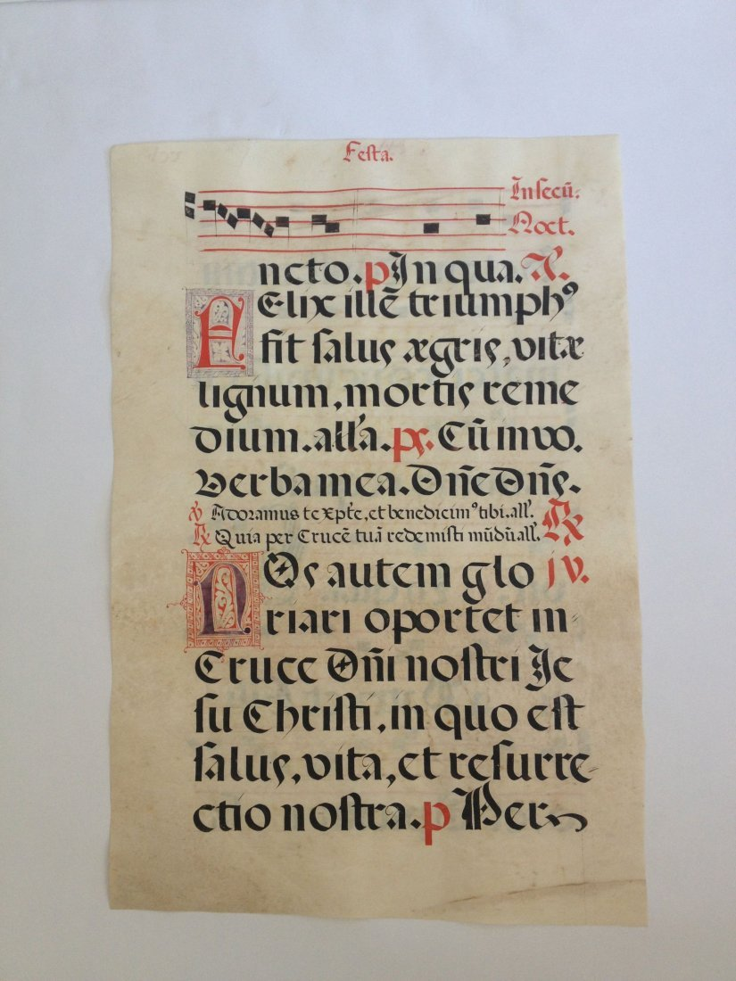 Song Page, c. 1760.
