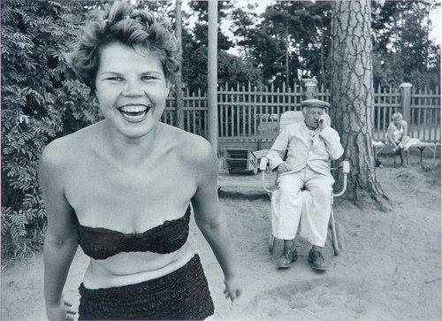 7: William Klein (American, b. 1928) Moscow-Bikini, 195
