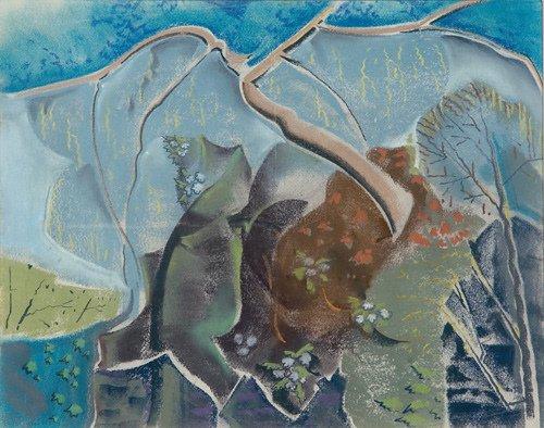 9: Will Henry Stevens (American, 1881-1949) Spring - Th