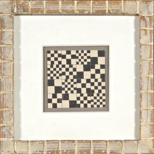 10: Frederick Hammersley (American, b. 1919) Checkered