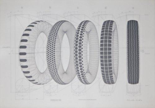 15: Richard Hamilton (British, b. 1922) Five Tyres Remo