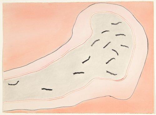 24: Ree Morton (American, 1936-1977) Untitled (Cell Dra